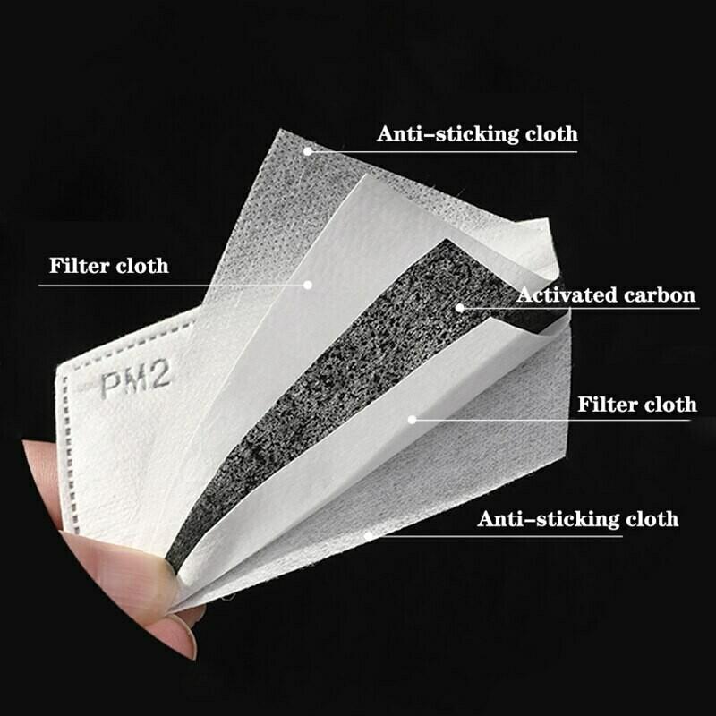10 PCS PM2.5 Activated Carbon Filter