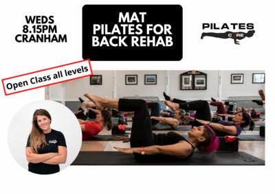 Mat Pilates - Weds 8.15pm @Cranham Community Centre, Upminster