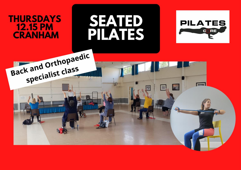 Seated Pilates - Thursdays 12:15pm @ Cranham Community Centre
