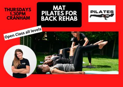 Mat Pilates Thursdays 1.30pm @ Cranham Community Centre, Upminster