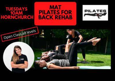 Mat Pilates Tuesdays 10am @ English Martyrs Church Hornchurch