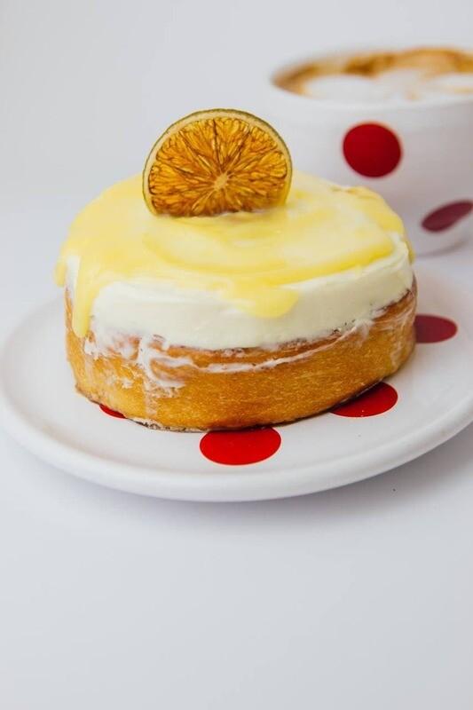 Сіннамон  Лимонний курд