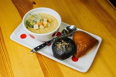 Суп грибний