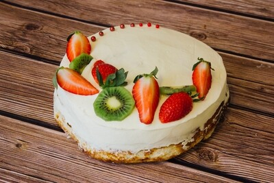 Цинамон торт Сніжний