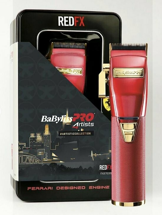 Babyliss Pro 4rtists Ferrari Engine Tondeuse Red Fx8700re