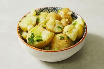 Crushed New Potatoes (V)(GF)