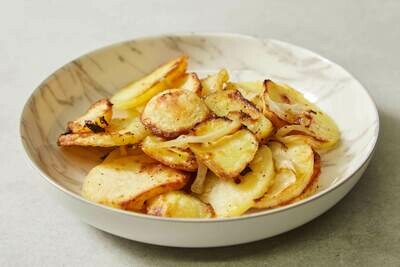 Oven Roasted Potatoes with Onions (V)(GF)