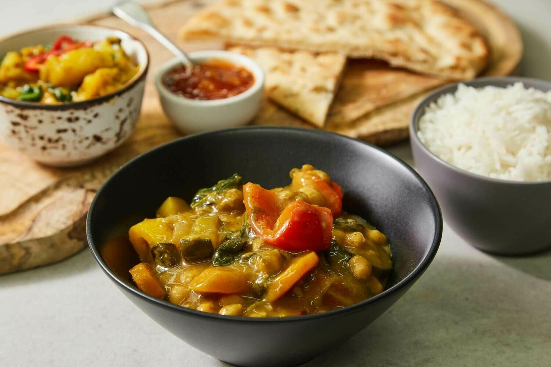 Homemade Masters' Signature Vegan Curry (V)(GF)