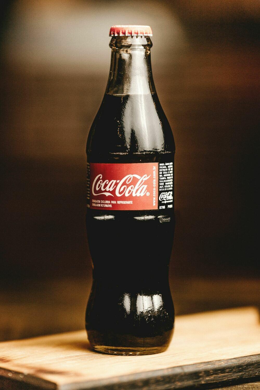 Glass Bottle Coke Cola