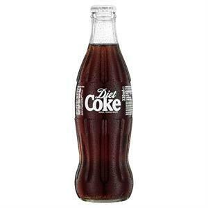 Glass Bottle Diet Coke