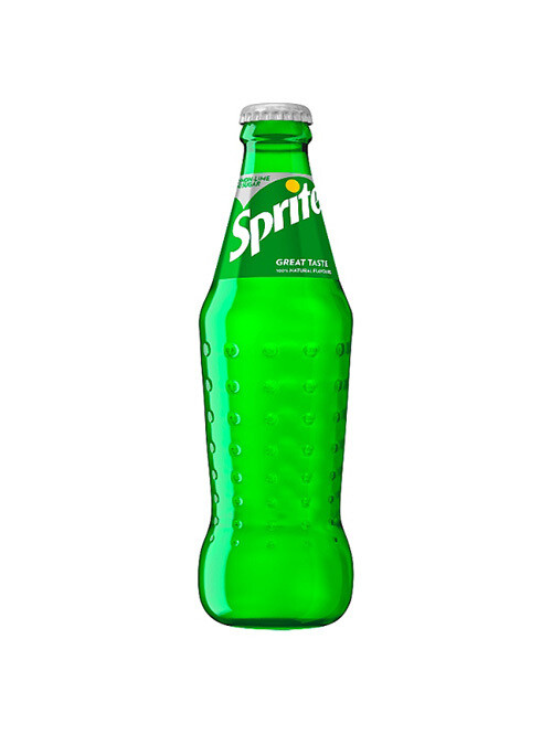 Glass Bottle Sprite