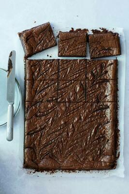 Large Salted Caramel Brownie (GF) (VG) (Box of 4 or 8)