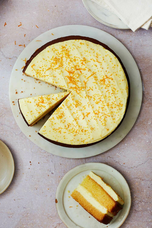 Whole Handmade Orange & Polenta Cake (GF) (VG)