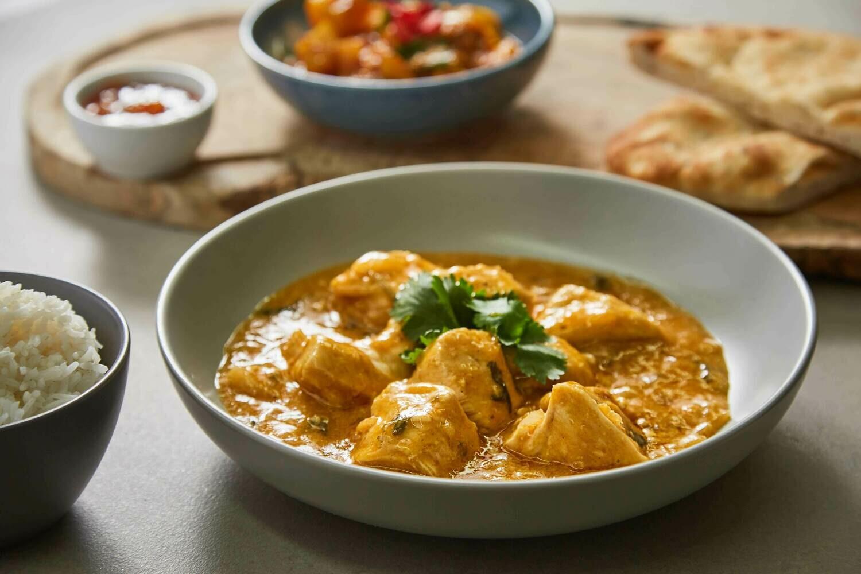 Homemade Chicken Korma and Rice (GF)