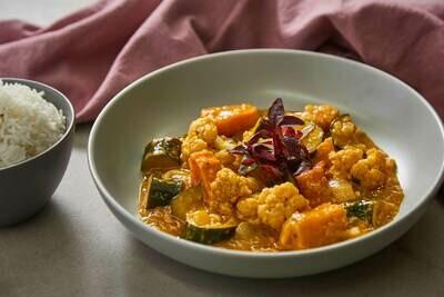 Homemade Vegetarian Korma (VG)(GF)