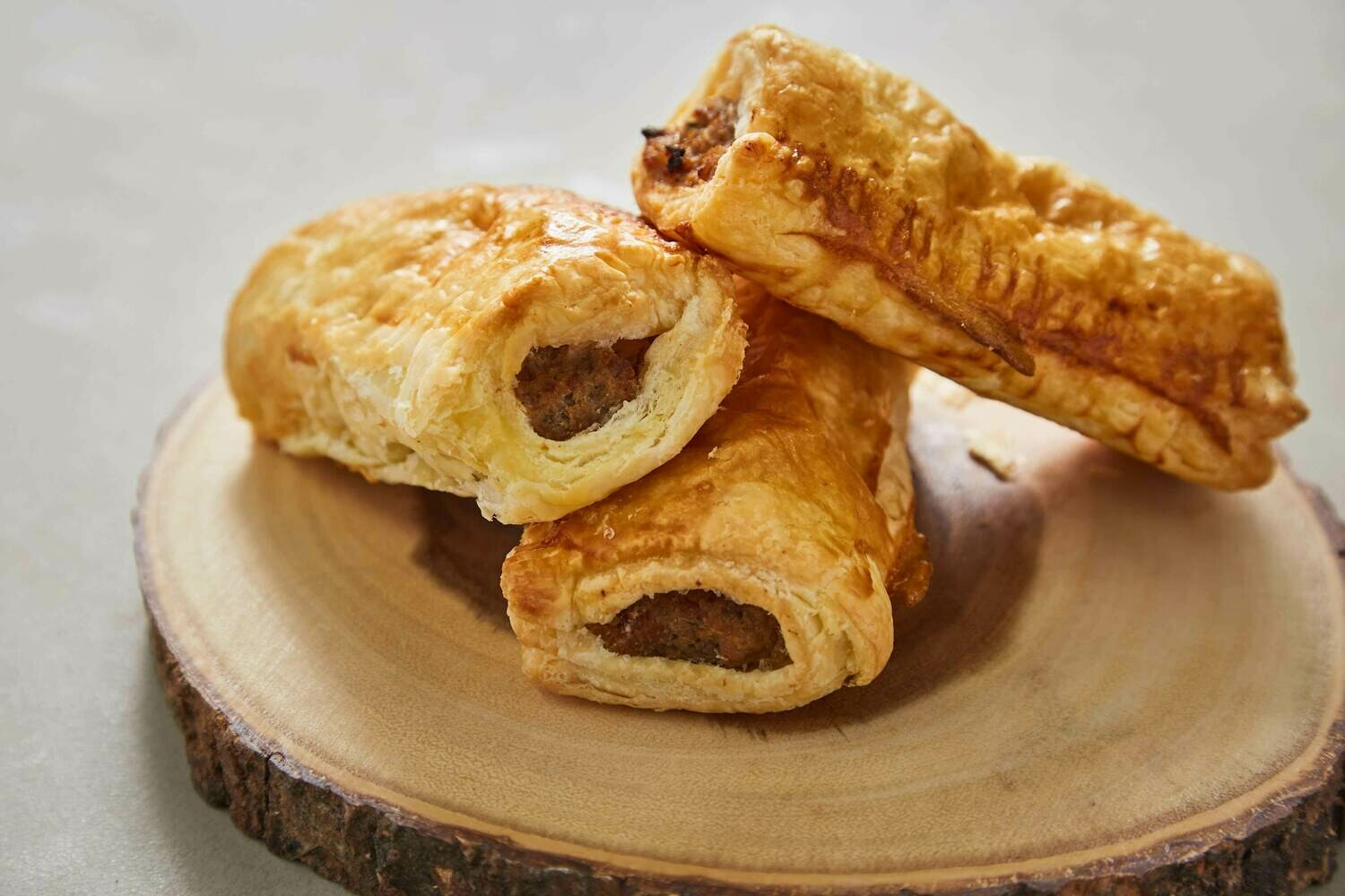 Homemade Pastry Sausage Roll