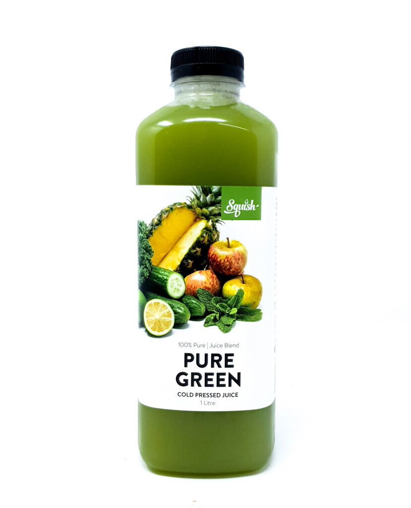 Cold Pressed Pure Green Juice