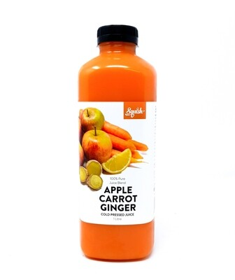 Cold Pressed Pure Apple, Carrot & Ginger Juice