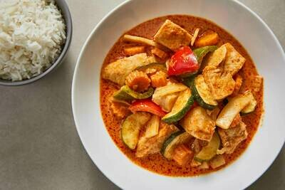 Red Thai Chicken Curry (GF)