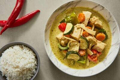 Green Thai Chicken Curry (GF)
