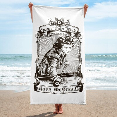 Ruth McGinnis Beach Towel