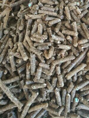 Sample size pellets