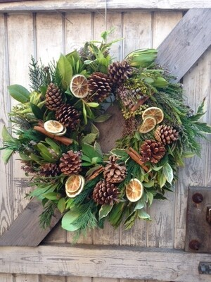 The Classic Forest Wreath