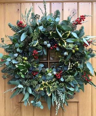 The Luxury Berry Wreath