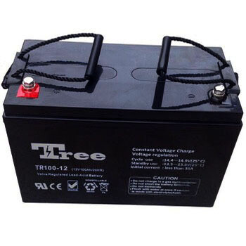 100Ah Deep Cycle Uninterruptible power supply Battery