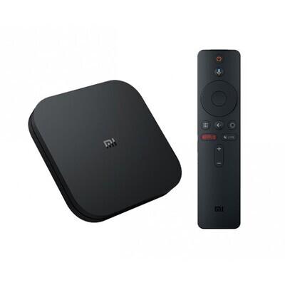 Mi Box S - 4K AndroidTV Media Player