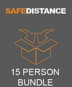 15 PERSON SAFE-DISTANCE BUNDLE