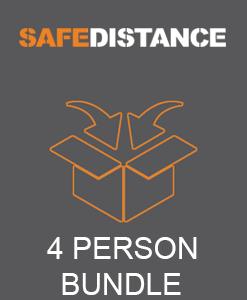 4 PERSON SAFE-DISTANCE BUNDLE