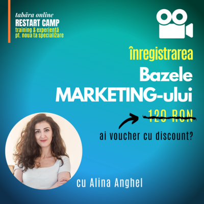 Inregistrarea video a cursului Bazele MARKETING-ului