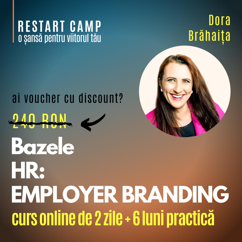 Cursul Bazele HR - EMPLOYER BRANDING
