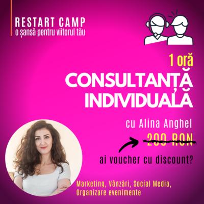 1 ora de consultanta individuala cu Alina Anghel