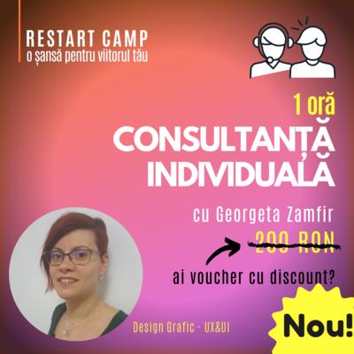 1 ora de consultanta individuala cu Georgeta Zamfir