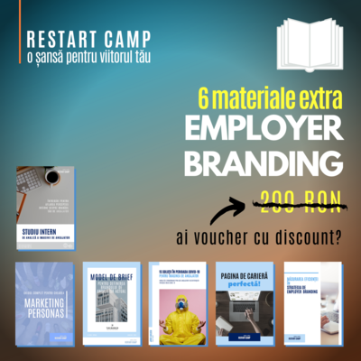 Pachet 6 materiale extra EMPLOYER BRANDING