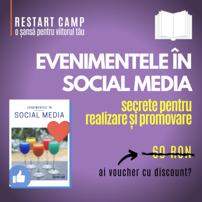 Material extra EVENIMENTE IN SOCIAL MEDIA