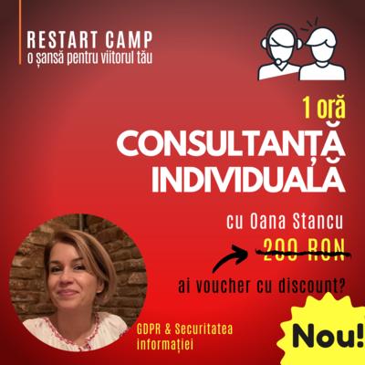 1 ora de consultanta individuala cu Oana Stancu