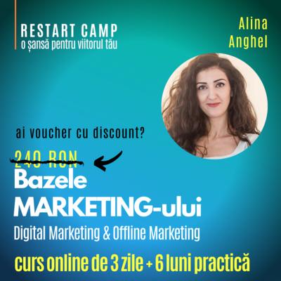 Cursul Bazele MARKETING-ului - Digital Marketing si Offline Marketing