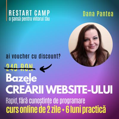 Cursul Bazele CREARII UNUI WEBSITE fara cunostinte de programare