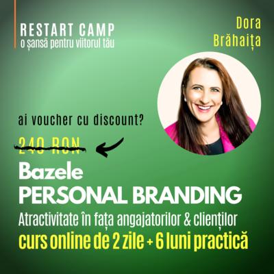 Cursul Bazele PERSONAL BRANDING - atractivitate in fata angajatorilor & clientilor