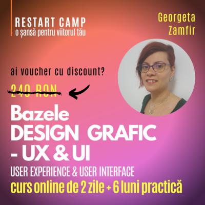 Cursul Bazele DESIGNULUI GRAFIC - UX-UI