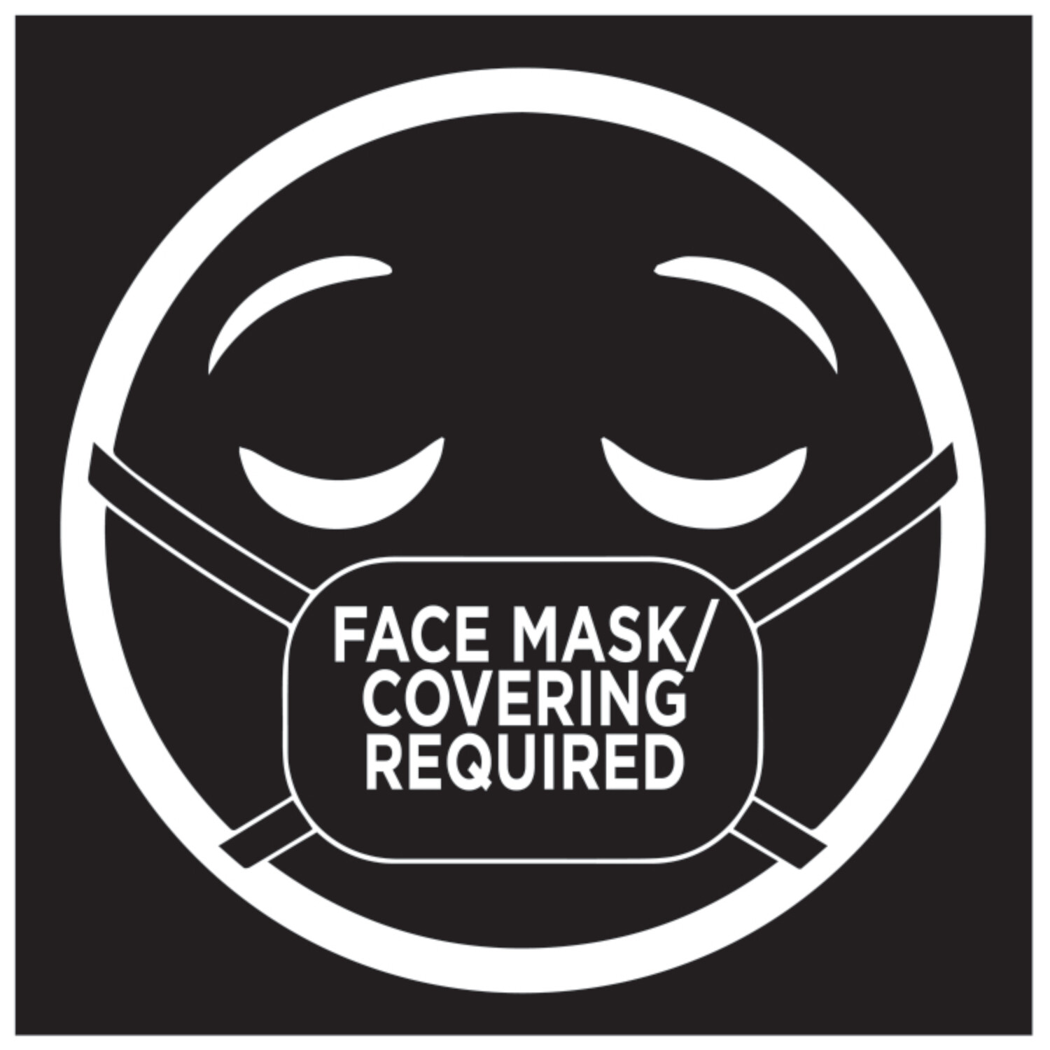 Face Mask Decal