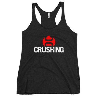 CrushingDC Next Level Women's Racerback Tank