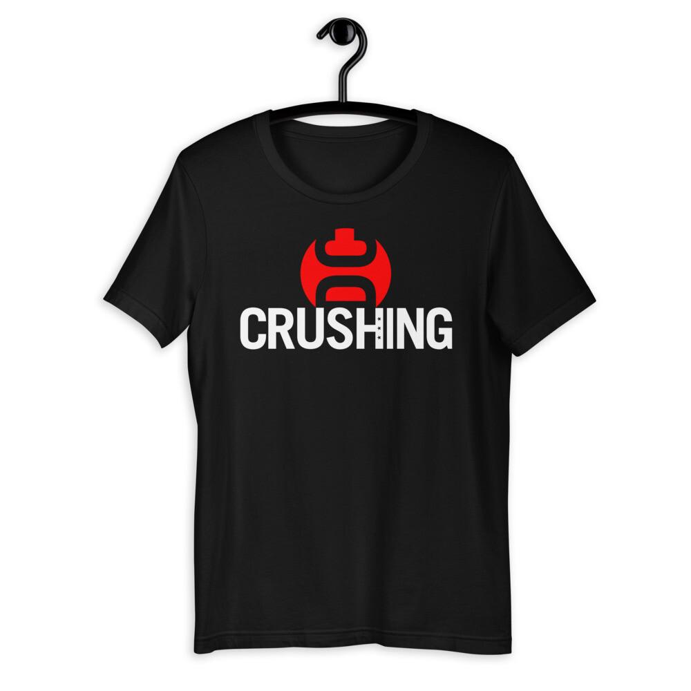 CrushingDC Bella + Canvas Short-Sleeve Unisex T-Shirt (White Print)