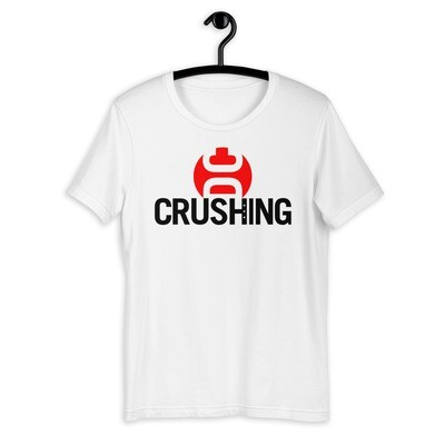 CrushingDC Bella + Canvas Short-Sleeve Unisex T-Shirt (Black Print)
