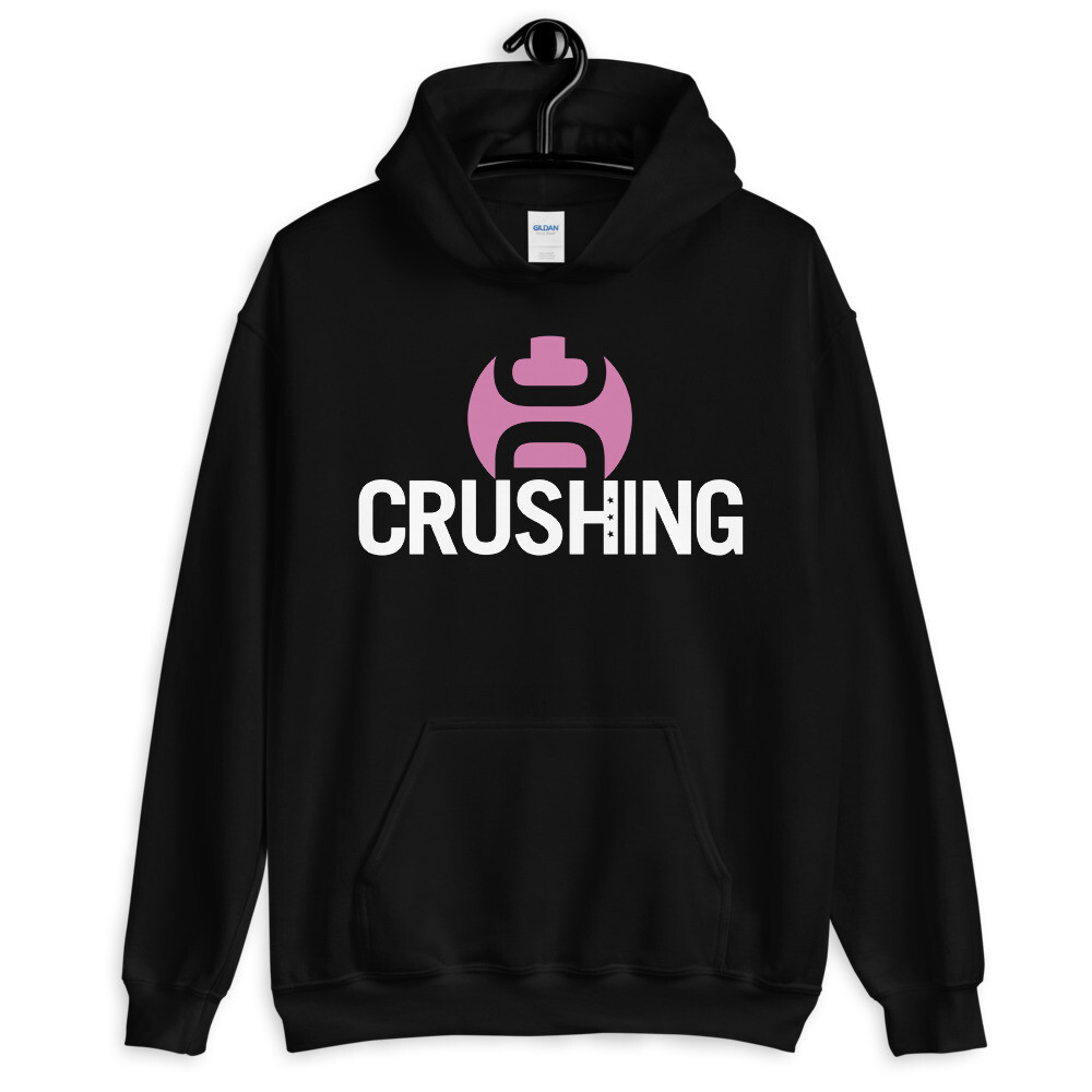 CrushingDC Hoodie - Breast Cancer Awareness Month Edition