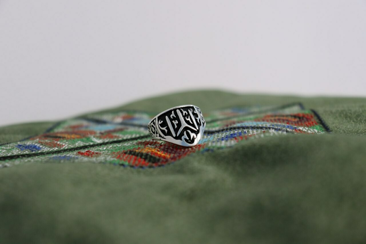 Silver Kayı Tribe Ring