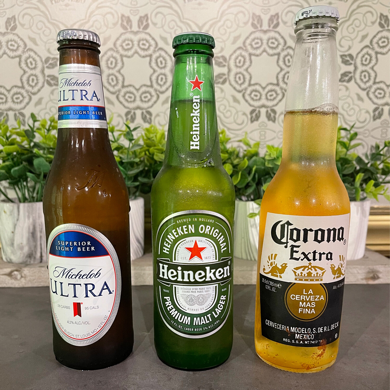 Michelob, Heineken & Corona